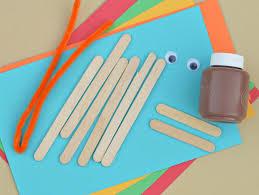 popsicle stick turkey craft about a