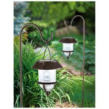 Bird Solar Lights by 6 Pk Of Bronze Shepherd Hook Solar Lights 228958 Solar