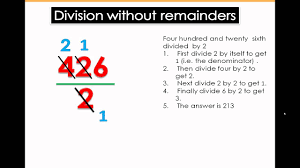 division without remainders math tutorial 4th u0026 5th grade math