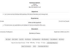 Online Resume Generator by Download Resume Creator Haadyaooverbayresort Com