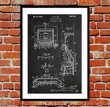 electric fireplace patent fireplace poster fireplace blueprint