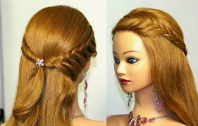 hairstyles for prom easy bridal prom hairstyle for medium long
