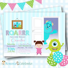 caillou birthday invitations monsters inc birthday invitations monsters inc birthday