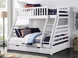 Maine Bunk Beds Maine Wooden Sleeper Bunk Bed Frame White Or Grey And 2