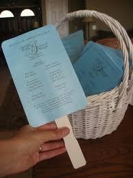 Wedding Program On A Fan 51 Best K U0027s Wedding Programs Images On Pinterest Wedding