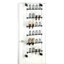 Closet Door Shoe Storage Door Shoe Organizer The Door Shoe Rack Pair Sgmun Club