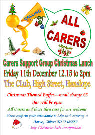 hanslope u0026 district carers support group christmas buffet lunch