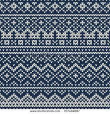 fair isle traditional fair isle style seamless knitting stock illustration