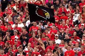 Cardinal Flag The Cardinal Countdown 43 Days Until Kickoff Card Chronicle