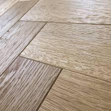 Herringboneparquetmmnaturaloakbrushedoiledengineered - Herringbone engineered wood flooring