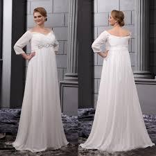 empire waist plus size wedding dress plus size wedding dresses 2015 empire waist shoulder bridal