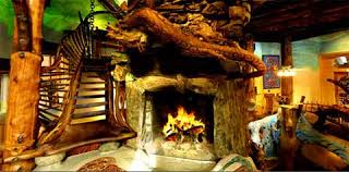 hobbit home interior the interior design of this hobbit house look a like is based on