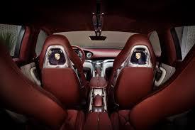 Porsche Cayenne Red Interior - panamera sport turismo interior 6