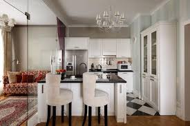 modern kitchen islands with high countertops and bar chairs