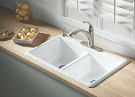Kitchen Sink Faucet Leaking by Perfect Kohler Kitchen Sinks Top Mount Tags Kohler Kitchen Sink