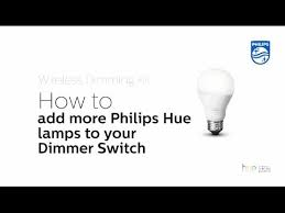 philips hue how to add more lamps to your wireless dimming kit