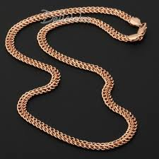 mens rose gold necklace images Cheap rose gold men necklace find rose gold men necklace deals on jpg