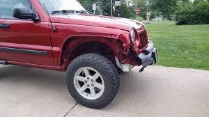 crashed jeep liberty 07 jeep liberty accident youtube