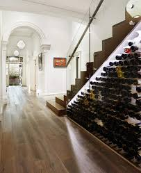 under stairs ideas decorations terrific wine rack under stairs with clear glass cover
