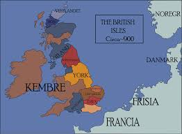 Map Of The British Isles A Map Of The British Isles In My Ck2 Game So Far Can You Guess