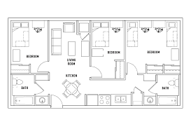 floor plan bedroom floor plans dolphin cove student housing staten island ny