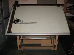 Vemco Drafting Table Drafting Table W Vemco 612 Arm Great For Table 36271201