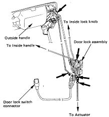 2002 Toyota Camry Interior Door Handle Repair Guides Interior Door Locks Autozone Com