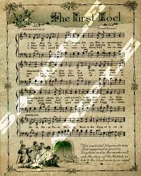 the first noel christmas religious holiday sheet music