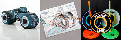 disney offers tron legacy papercraft coloring pages games