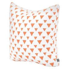 glitter allyson johnson triangles throw pillow deny designs
