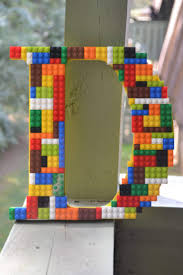 legos nursery wooden letters home decor boys room wall art
