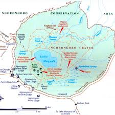 Mt Kilimanjaro Map The Ngorongoro Crater Climb Kilimanjaro With The Best Guides On