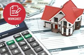 How To Set Up A Monthly Budget Spreadsheet by Household Budget Worksheet