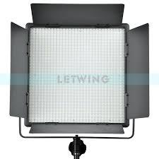 cheap studio lights for video illumination dimming godox 1000w version 5600k led video studio