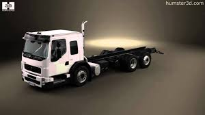 volvo 2011 truck volvo fe lec chassis truck 2011 by 3d model store humster3d com