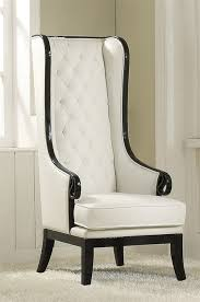 White Accent Chair Furniture Parr Black White Accent Chair Acme 59128