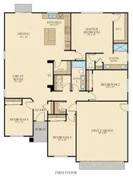 Ponderosa Floor Plan Foxtail Floor Plan From Lennar U0027s California Series In The Central