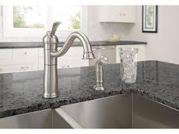polished nickel kitchen faucet kitchen polished nickel pull kitchen faucet home depot