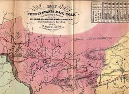 New York Central Railroad Map by An Overview Of Pennsylvania Mapping Circa 1850 To 1900