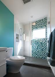 light blue floor and wall for bathroom