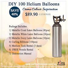 helium tank for sale diy helium balloons save party wholesale centre singapore