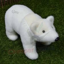 Large Polar Bear Christmas Decorations by Indoor Christmas Snow Animal Statue Decoration Reindeer Polar