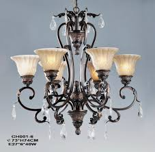 Cheap Nursery Chandeliers Outlet 6 Light Rust Iron Nursery Chandeliers At Discount Prices