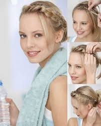 Hochsteckfrisuren Mittellange Haare Einfach by Kinderleichte Anleitungen Um Frisuren Selber Zu Machen Auch Für