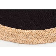 Round Modern Rug by Black Round Jute Seagrass Sisal Rugs Free Shipping Aust Wide
