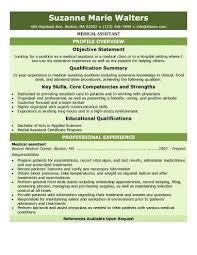 entry level medical assistant resume samples entry level medical