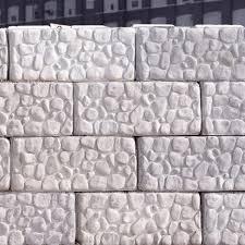 concrete blocks material bins traffic barriers parking stops