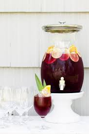 Easy Summer Entertaining Recipes - easy summer entertaining classic red sangria recipe pottery barn