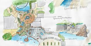 Sea World Orlando Map by A New Entrance For Seaworld Theme Park Concepts