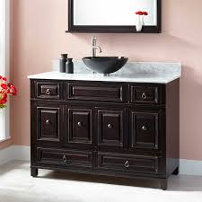 Bathroom Vanities For Vessel Sinks by Accented Vessel Sink Vanity Signature Hardware